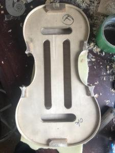 バイオリン 横板イメージ